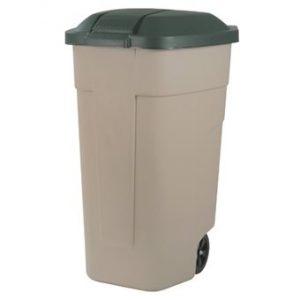 Curver Verrijdbare afvalbak 110 L